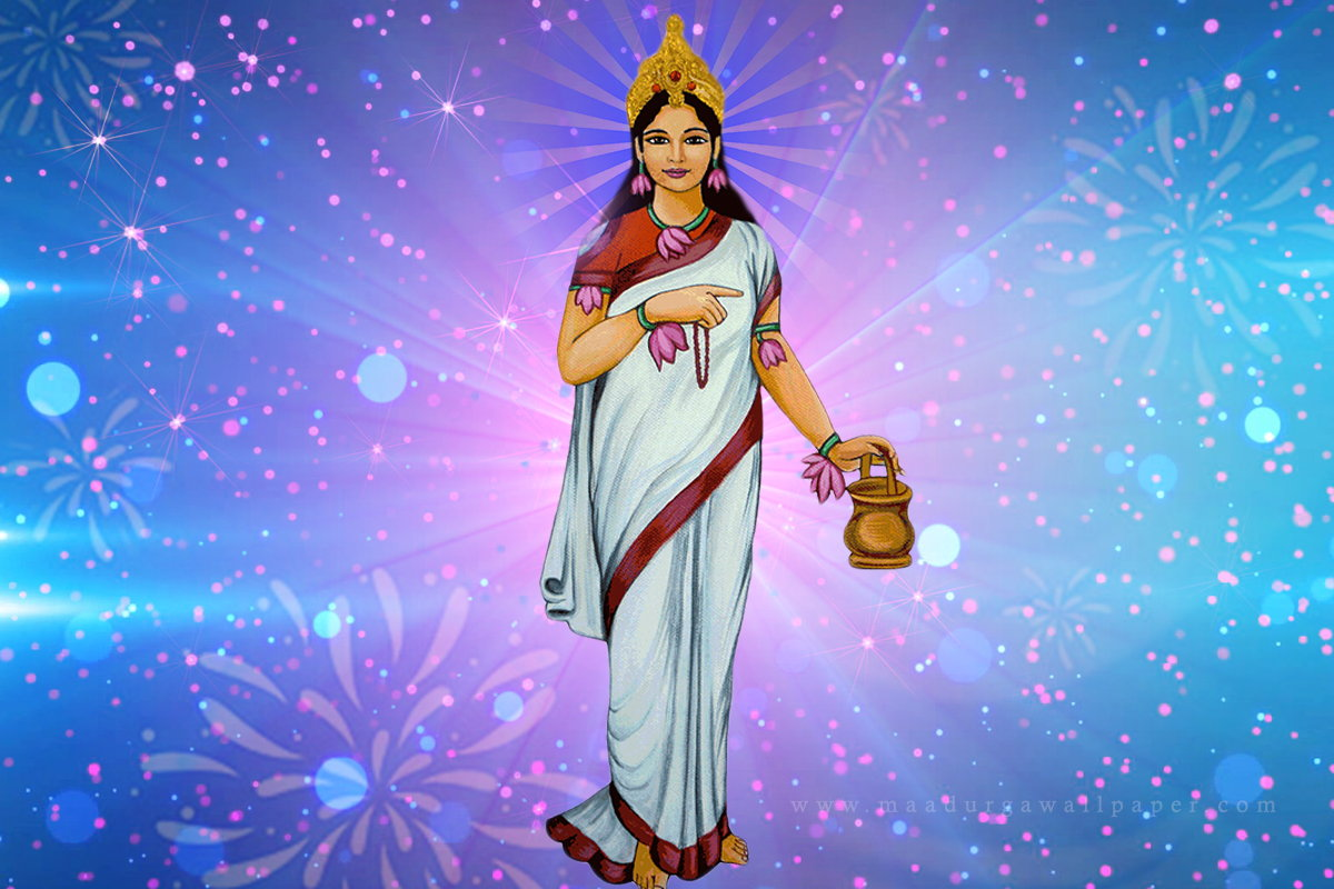 2nd day Worshipping of Goddess Brahmacharini During Navratri