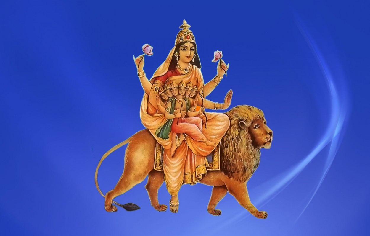 Navratri Day 5- Worship of Goddess Skandamata