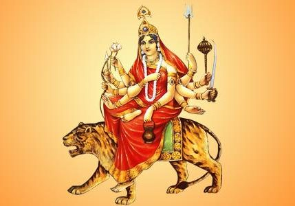 3rd day Worshipping of Goddess Chandraghanta During Navratri