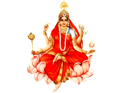 9th Day Worshipping of Goddess Siddhidatri During Navratri