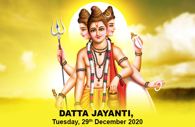 Datta Jayanti, Tuesday 29th December 2020